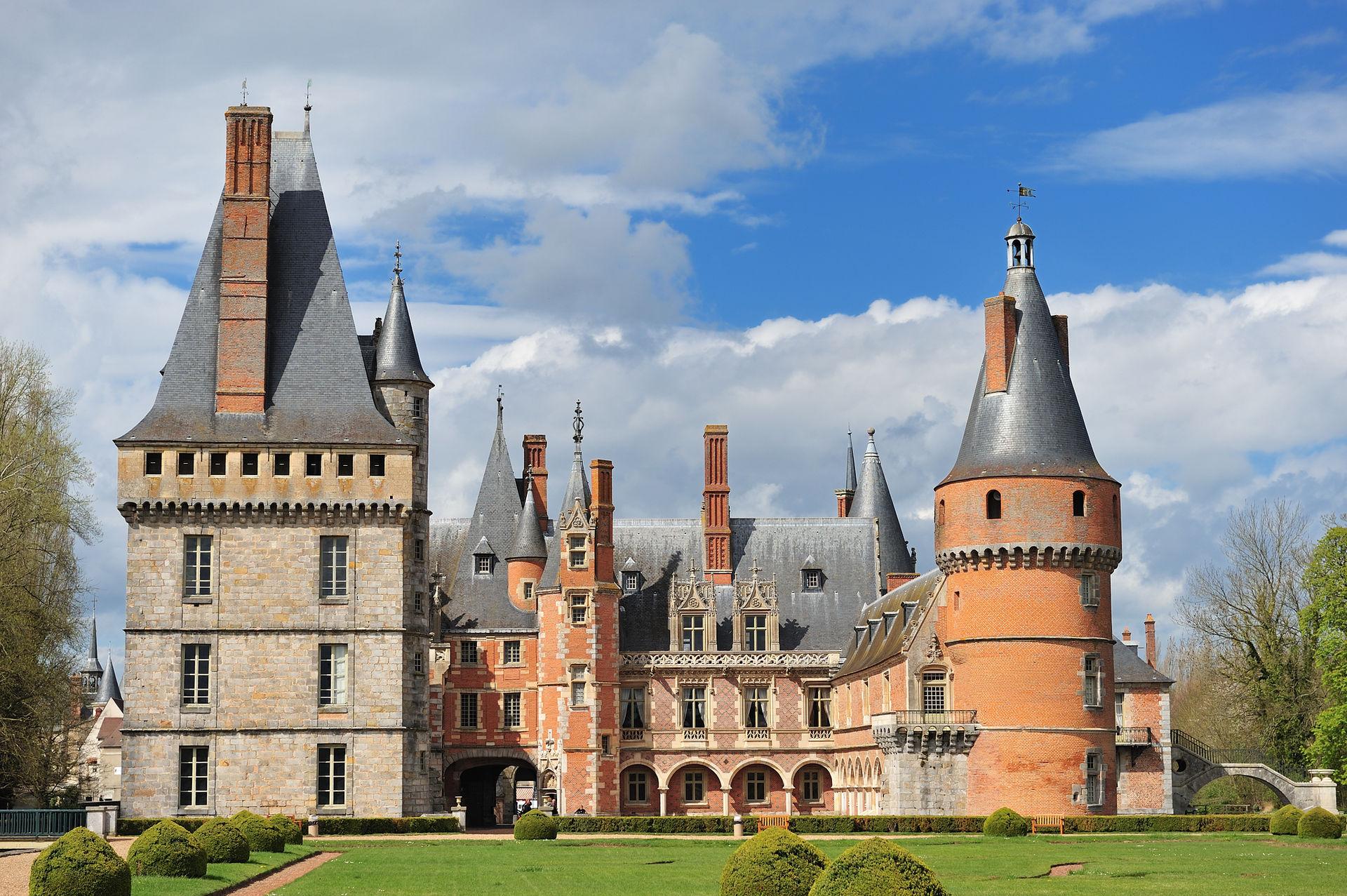 Le château de Maintenon - Yvelines - 78
