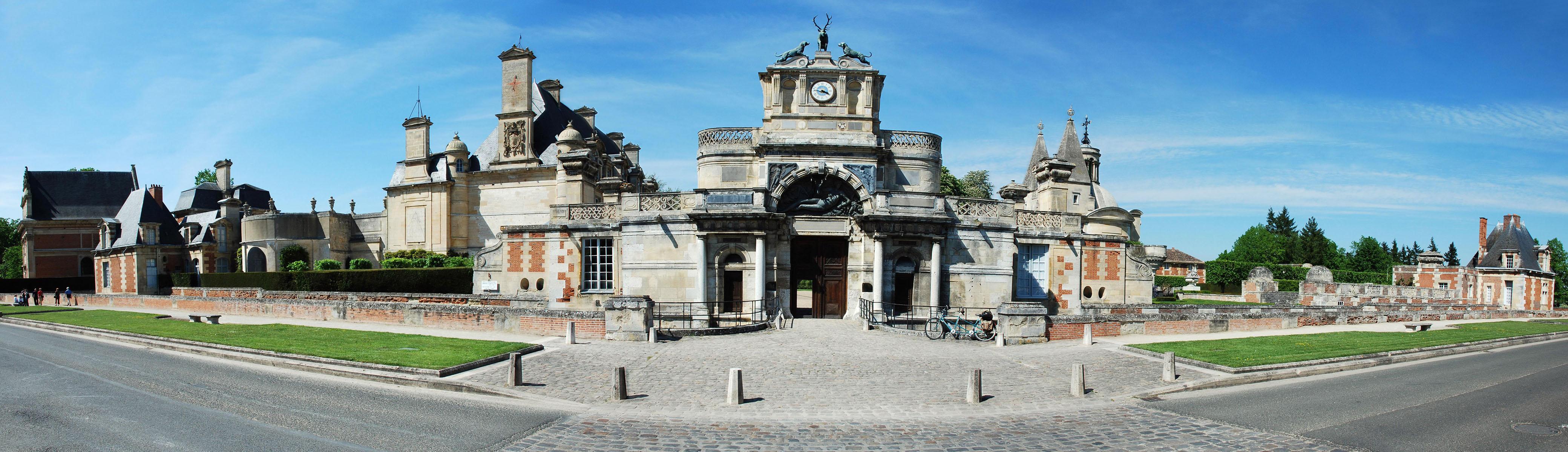 Le château d'Anet - Eure-et-Loir - 28