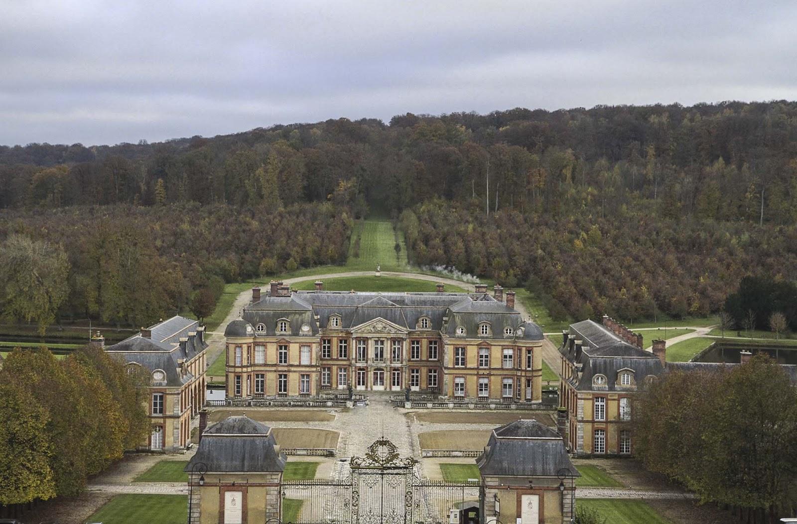 Le château de Dampierre - Vallée de Chevreuse